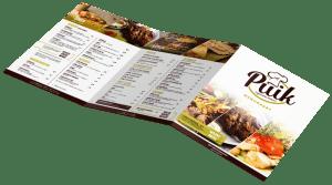 Nieuwe menukaart